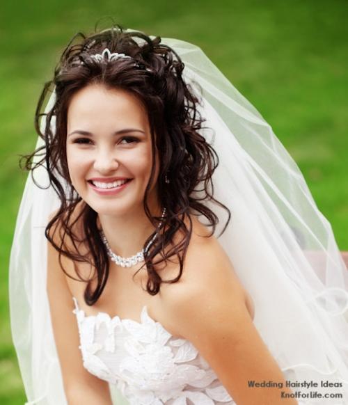 Fryzury ślubne Z Welonem Portal Weselichonet