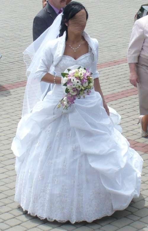 Suknia ślubna Biała Beza Sarah Bytom Ogłoszenia ślubne I Weselne 677