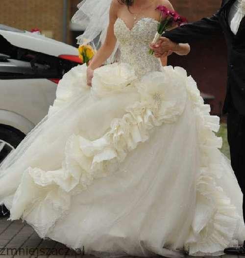 Suknia ślubna Oryginalna Ogłoszenia ślubne I Weselne 694