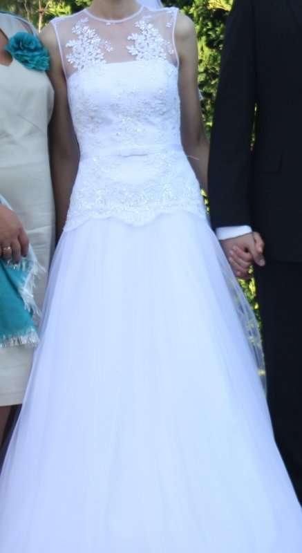 Suknia ślubna Biała żory Ogłoszenia ślubne I Weselne 751